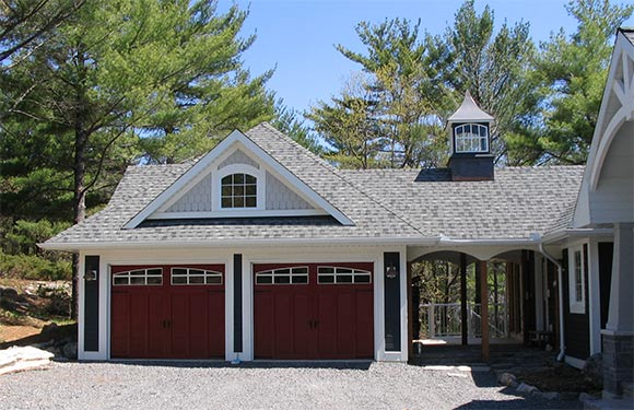 garages and square footage house measure